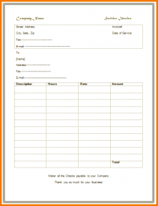 sample expense report simple invoice template simple service invoice template