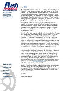 sample fundraising letter fundraising letter sample