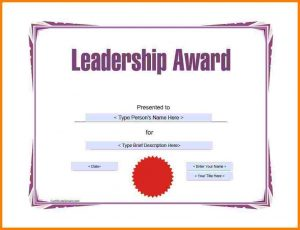 sample gift letter sample awards certificate award template