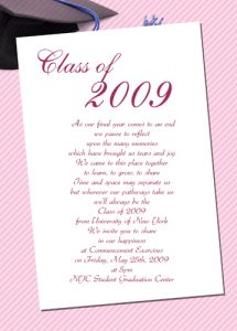 sample graduation invites graduation invitations templates