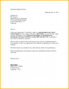 sample job application application letter for a job vacancy job application letter sample 201079