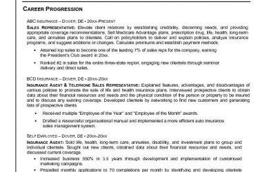 sample job description template insurance sales representative resume accomplished in insurance sales career progression