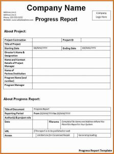 biology lab report template