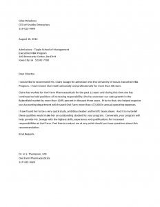 sample letter of employement letters of recommendation for employment l