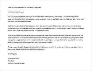 sample letter of recommendation for graduate school free download letter of recommendation for graduate school