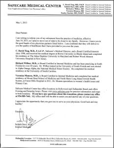 sample medical letter from doctor to employer dr dave retirement letter