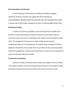 sample memo format creating a sustainable online social commerce research paper