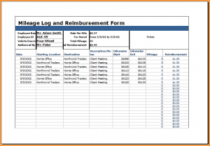 sample mileage log mileage reimbursement form template mileage log with reimbursement log