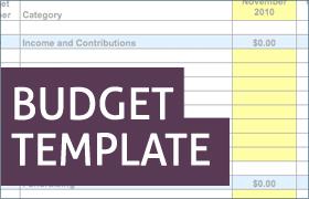 sample nonprofit budget