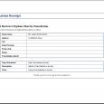 sample nonprofit gift acknowledgement letter donation receipt