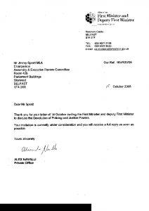 sample of business leter letter opt