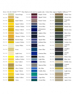 sample of power of attorney sample ral color chart l