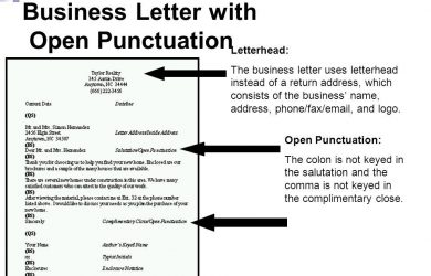 sample police report open punctuation business letter the letter sample with open punctuation business letter