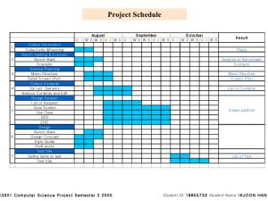 sample project plan sample plan project