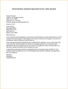 sample proposal letter admin cover letter examples administrative assistant specialist cover letter sample