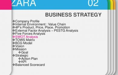 sample proposal letter business strategy zara