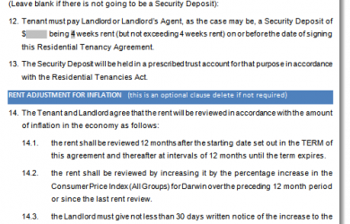 sample purchase agreement nt tenancy agreement sample