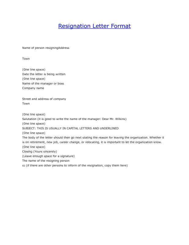 sample resignation email template business email resignation letter