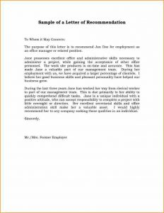 sample resignation letter template a letter of recommendation example abfcdeaabdedff