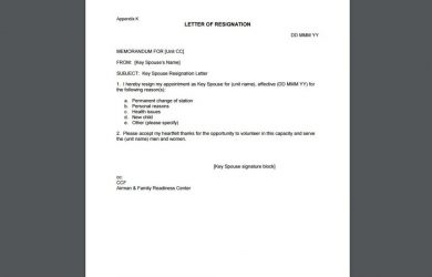sample resignation letter template fill in the blanks letter of resignation x
