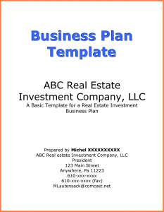 sample sponsorship proposal a business plan cover page business plan cover page