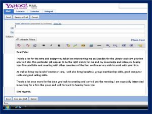 sample thank you email after interview email thank you note after interview 3