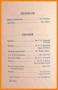 sample wedding program banquet program sample