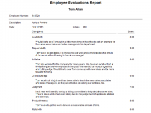 samples employee evaluations employee evaluations