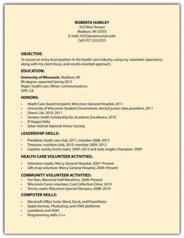 samples functional resumes
