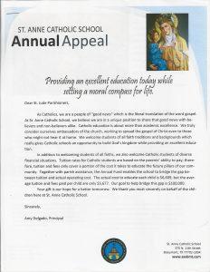 samples fundraising letters stanneparishonerletter