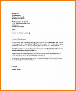 samples hardship letter mortgage explanation letter hardship letter template
