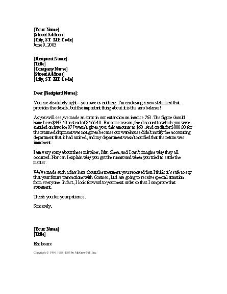 samples hardship letter