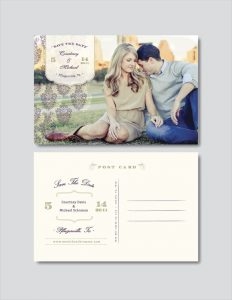 save the date postcard template vintage save the date postcard photoshop template