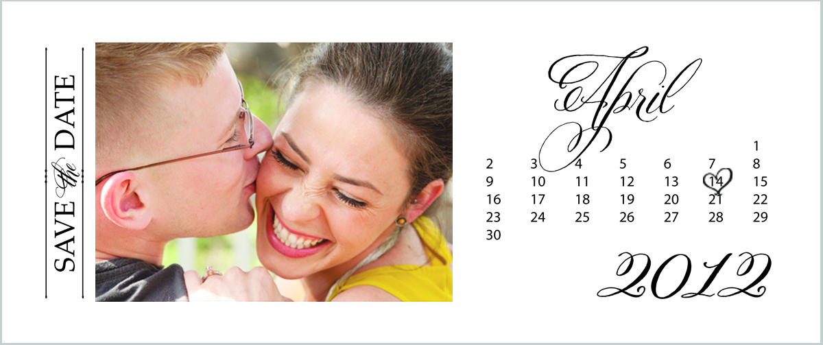 save the date template free download