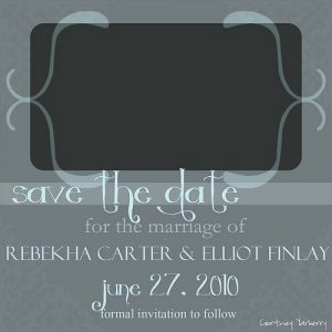 save the date template free download edef