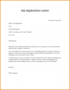 scholarship application letter how to write application to how to write an employment letter examples of job application letters kvkqtdqk