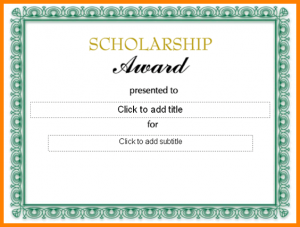 scholarship certificates templates scholarship certificate samples certificate templates formal scholarship award certificate template sample