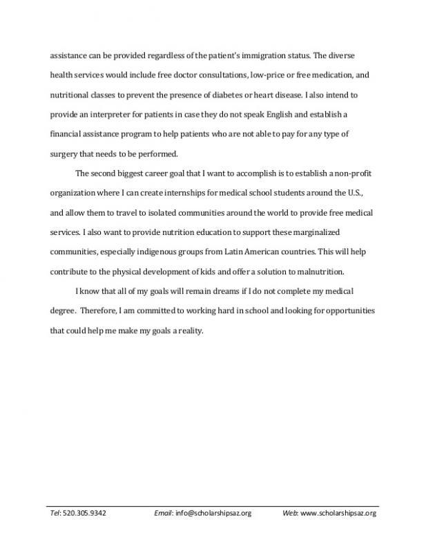 scholarship essays examples