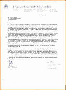 scholarship letter sample letter for scholarship application brandeis scholarship letter