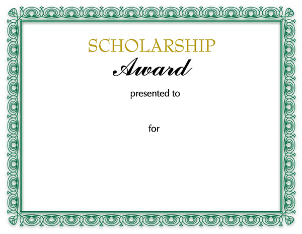 scholarships letters examples