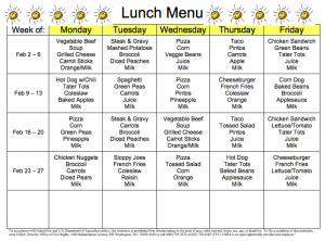 school lunch menu screen shot 2015 01 30 at 12.35.11 pm