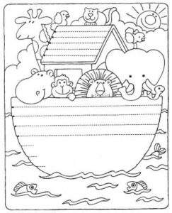 school newspaper template preschool tracing line and coloring funny