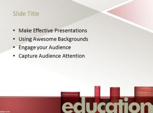 school powerpoint templates adult education powerpoint template