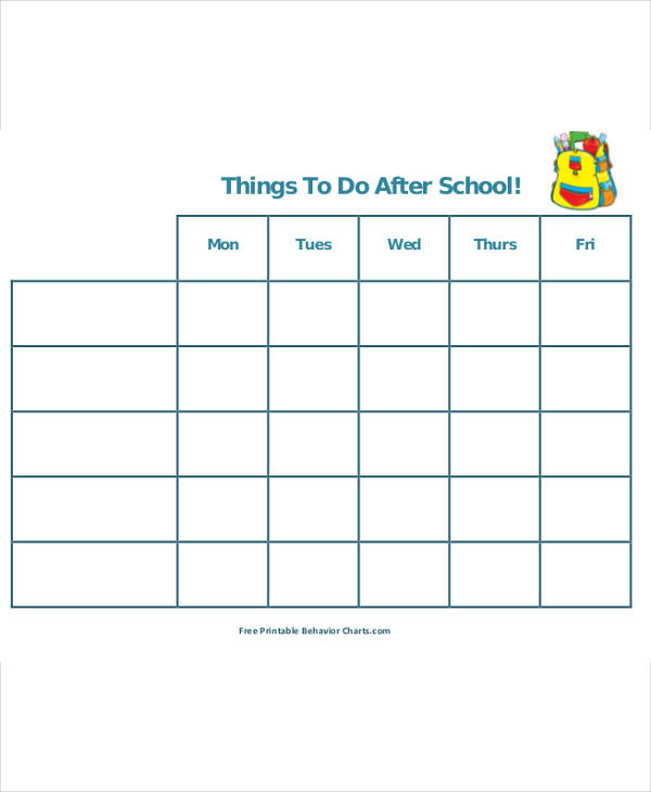 School Scheduling Template  Template Business