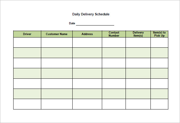 school scheduling templates
