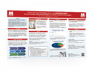 scientific poster template free paper research poster