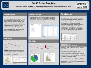 scientific poster template free template business