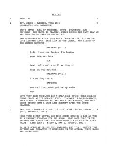 screenplay format template movie script template rmdgfd