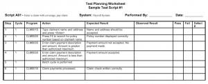 script format example test script