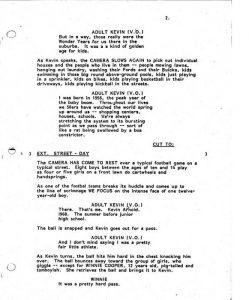 script format template the wonder years original pilot script mitmvc
